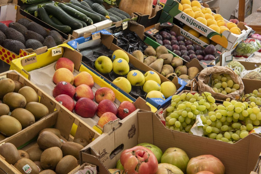 FRutas y verduras en Granada